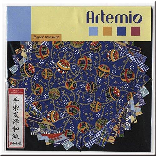 Artemio - Papeles japoneses yuzen, Tonos Azules