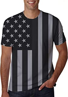 d3b1816daff8 Uideazone Unisex 3D Creative Print Short Sleeve T-Shirt Casual Graphic Tee
