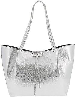 PATRIZIA PEPE Pepe City Shopper Tasche Leder 32 cm