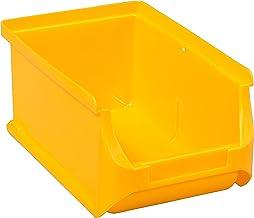 Allit 456206 Tanque de almacenamiento ProfiPlus con visibilidad surtidor Tamaño amarillo 2, 160x102x75mm