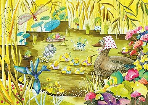 GUANGMANG Puzzles Rompecabezas- Cuento De Hadas - Juego De Rompecabezas De Madera De 1000 Piezas para Adultos Niños Puzzle Juguetes Decoración del Hogar