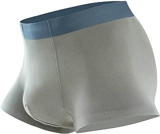 سراويل قطنية للرجال من الملابس الداخلية المضادة للبكتيريا خالية من العلامات بالإضافة إلى سراويل الملاكم الرجالية