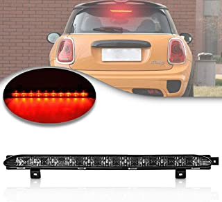 Lentille chrom/ée rouge 10 LED 3/ème feu de frein pour R56 CooperS R60 countryman 06-16