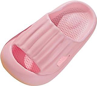 Soolike Chanclas para Niñas Niños Zapatos De Ducha,Antideslizantes Toboganes Suela Suave y Gruesa Secado Rápido Playa Pisc...