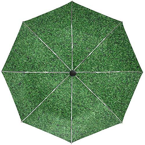 Automatische Regenschirm-Abdeckungs-Hintergrund-helles Gras-Teppich-Spielraum-bequemes winddichtes wasserdichtes faltendes Auto öffnen Sich nah