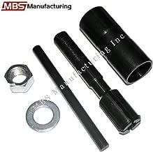 MBS Mfg Harley Davidson Evo/Evolution & Shovelhead, Inner Cam Bearing Puller Tool