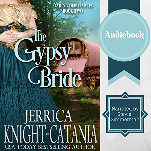 The Gypsy Bride audiobook cover art