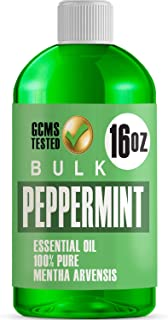 Sponsored Ad - 16oz Bulk Peppermint Essential Oil (Giant 16 Ounce Bottle- Therapeutic Grade Peppermint Oil) Perfect for Ar...