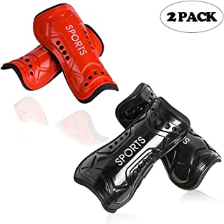 cGy Youth Soccer Shin Guards, Kids Soccer Shin Pads, Various Styles of Breathable and Lightweight Child Calf Protective Gear Soccer Equipment for 3-15 Years Old Boys Girls Teenagers Kids