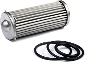 Holley 162-568 HP 40 Micron 260 GPH Billet Fuel Filter Element and O-Ring Kit