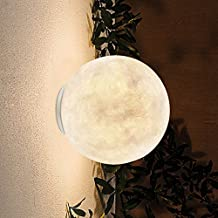 Omped Nordic Style Bedroom Bedside Lamp Wall Lamp Lamp Aisle Porch Balcony Wall Lighting Designer Creative Personality Moo...