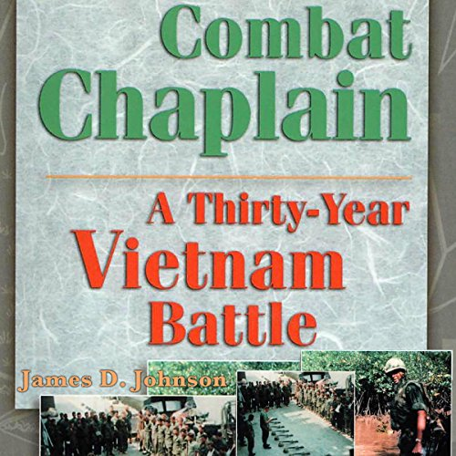 Combat Chaplain audiobook cover art