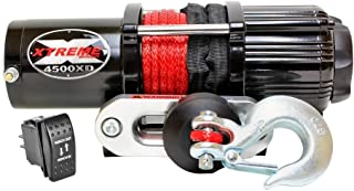 XTREME Winch 4500LB ATV Winch With Model Specifc Mount Fits 2016-18 HONDA PIONEER 1000 & 1000-5