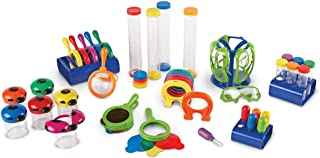 Learning Resources Primarty Science Classroom Science Center School Bundle, 47 Pieces