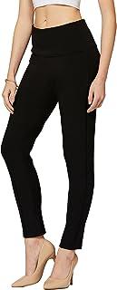 Premium Women's Stretch Dress Pants - Wear to Work - Ponte Treggings