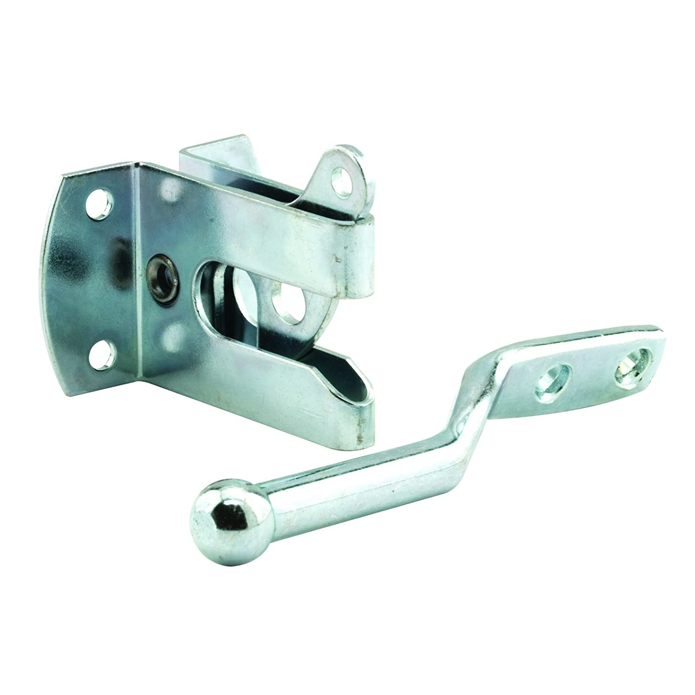 Prime-Line MP9017 Gate Latch & Strike Set, 1-7/8 in. x 1-9/16 in, Steel, Zinc Plated, Pack of 1