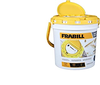 Frabill 4825 Insulated Bait Bucket with Built in Aerator
