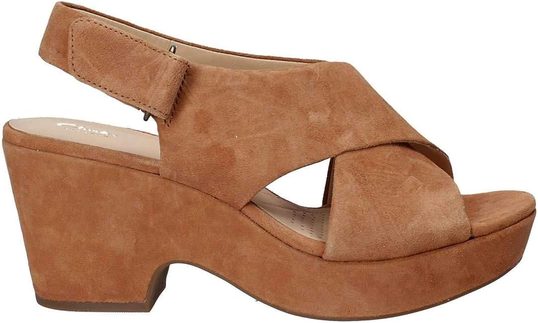 Clarks 131777 Sandalen Sandalen Sandalen mit Absatz Frauen  b046c2