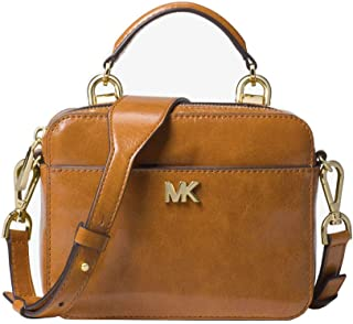 feb0e15324 Michael Kors Mott Mini Small Calf Leather Crossbody Purse