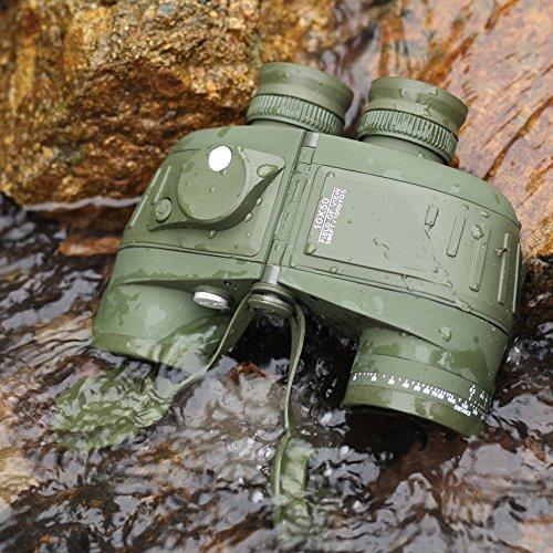 Jumelles Marine 10X50 Compass Étanche Hdx Coordonnée Télémètre Glow,UNE