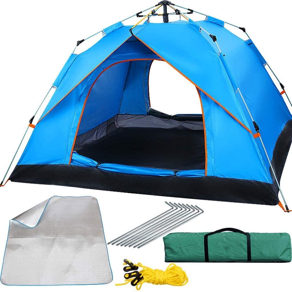 ZUQIEE ⛵ HWZP Time sale Portable Fully famous Suitable Tent Automatic for Three