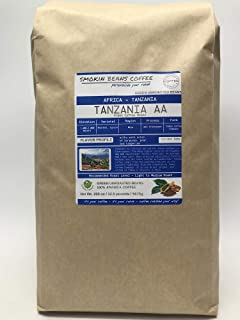 12.5 Pounds – Southern Africa – Tanzania AA – Unroasted Arabica Green Coffee Beans – Grown Mbya Region – Altitude 1400-200...