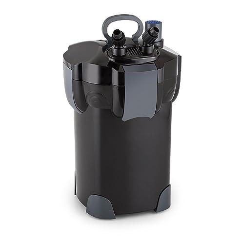 Waldbeck Clearflow 35UV • Filtre externe pour aquarium • Filtrage en 3 parties • Capacité maximale de 700 L • Moteur économique 35 watts • Jusqu'à 1 400 litres/heure • UVC 9 W intégré