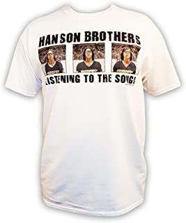 Hanson Brothers Charlestown Chiefs t-Shirt Officially Licensed Slap Shot