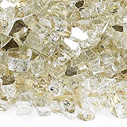 transparent stone cubes