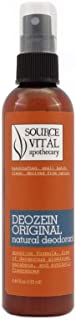 Source Vitál Apothecary | Deozein Natural Spray Deodorant | All-Natural, Free of Parabens and Baking Soda, Non-Toxic for M...