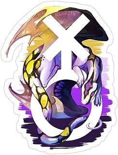Deangelo Non-Binary Pride Dragon Stickers (3 Pcs/Pack)