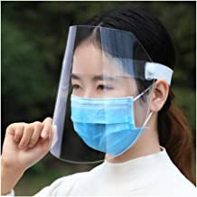 50-Piece Safety Surgical Face Protection with Anti-Fog Plate 3-Layer Structure Eye Protector and Face Cover Chef Kitchen Tool Anti Smoke (Color : 3pcs)