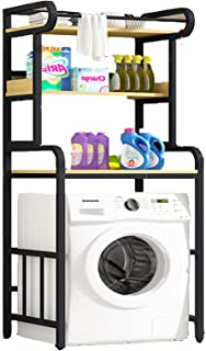Porte-Machine à Laver pour Les ménages et Les Cuisines, Les étagères au-Dessus de la Machine à Laver à Tambour sont respec...
