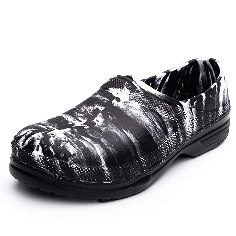 最初にギャラントリー不良コックシューズ メンズ 安全靴 作業靴 ウィンジョブ 耐油 防水素材 軽量 滑りにくい ゆったり 3E セーフティーシューズ クッキングメイト