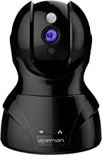 APEMAN IP Camera 1080P HD Wireless Security Camera with Night Vision up to 15m/50ft, 2 Way Audio, Pan/Tilt Home Camera Support Multiple People Viewing Remote Motion Detect Alert
