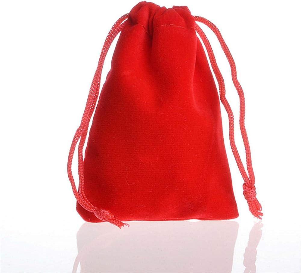 Kinandpri 50 Pack Red Velvet Pouches Drawstring Philadelphia Mall Jewelry Cloth Ba San Jose Mall
