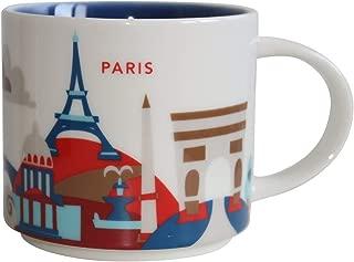 Starbucks Paris You Are Here YAH Coffee Mug