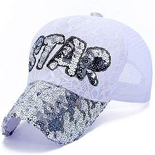 H-MAR Gorra de Beisbol Moda Unisex Respirable de Secado rápido Sombrero para el Sol Sombrero Ajustable Gorros Deportivos 4 Colores Deportes al Aire Libre Cun Hat (Color : Silver, Size : Free Size)