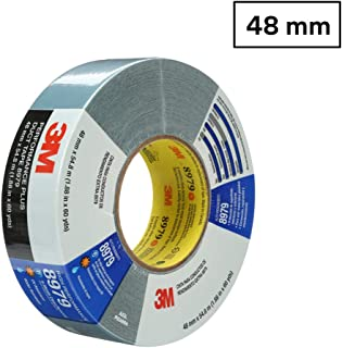 3M 8979 Performance Plus Duct Tape, Slate Blue, 48 mm x 54.8 m x 12.1 mil – High Performance Tape for Splicing/Taping Insulation, Capping Pipe, Temporary Repair and More, 1 Pack