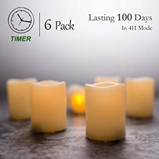 votive candles with timer