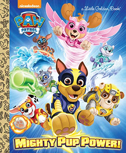 Paw Patrol Mighty Pup Power Little Golden Book (Hardcover) $2.45 + FS w/ Amazon Prime, FS on $25+ or FS w/ Walmart+ or FS on $35+