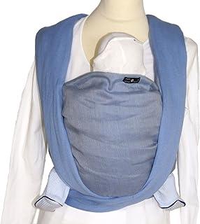DIDYMOS Woven Wrap Baby Carrier Double-Face Robert (Organic Cotton), Size 6
