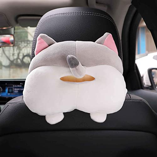 lowest Tissue popular Box Cover Soft Adorable Corgi Butt Shaped Paper Creative Storage Bag Hanging Pouch Tissue Box Wrapper Toy Cartoon Animal Tissue Paper Holder Case sale for Car Home sale