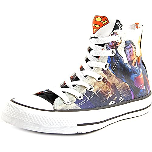 66ad99ca47e8 Converse Unisex Superman Flight DC Comics White Black