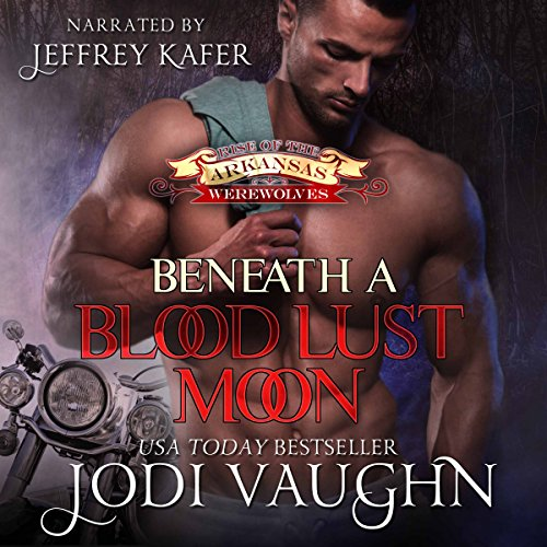 Beneath A Blood Lust Moon audiobook cover art