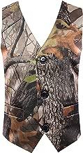 HBDesign Boys 1 Piece 3 Button Custom Casual Dress Camouflage Vest