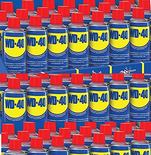 60 Spühdosen WD-40® zu je 400ml. Rostlöser, Fettlöser, Ruß, Öl, Schmutzlöser. WD-40® löst Kleber, Etiketten, Klebeband, Aufkleber. Im B2B Set von VOS Industriebedarf
