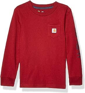Carhartt Baby Boys Long Sleeve Pocket Tee T-Shirt