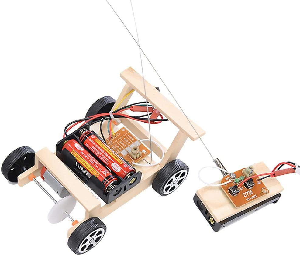 Remote Control Car Toy 70% OFF Ranking integrated 1st place Outlet DIY RC Contr Model Kit Wooden