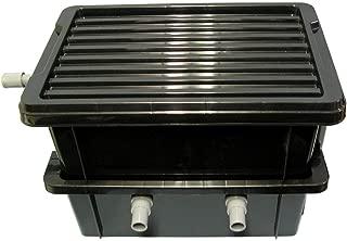 ろ過装置2段型 金魚メダカ用 箱プラ60L~80L用 ハンドメイド 水質安定君